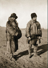 Helena and George Roerichs during the Central Asian Expedition