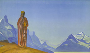 She Who Holds the World by Nicholas Roerich